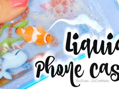 DIY Liquid Phone Case - Fish Tank, Aquarium, Ocean - Easy How To Cases