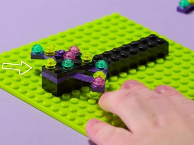 DIY Make a Fun Ring Toss - LEGO Friends - How to