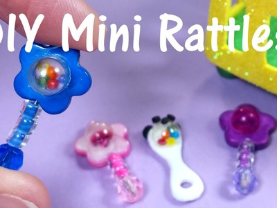 DIY Miniature Baby Doll Rattles