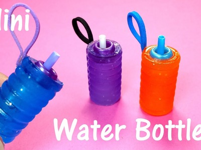 DIY Miniature Doll Working Water Bottles