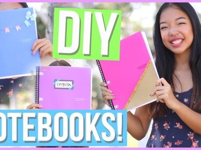 DIY Notebooks for Back to School 2016! + GIVEAWAY!!