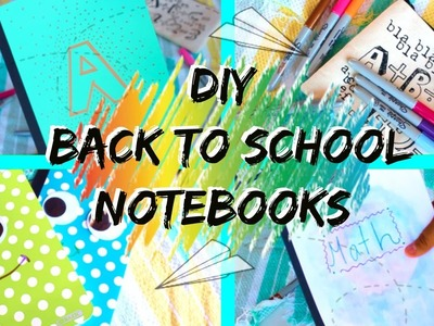 DIY Notebooks for Back to School 2016! | Diys By Abraham