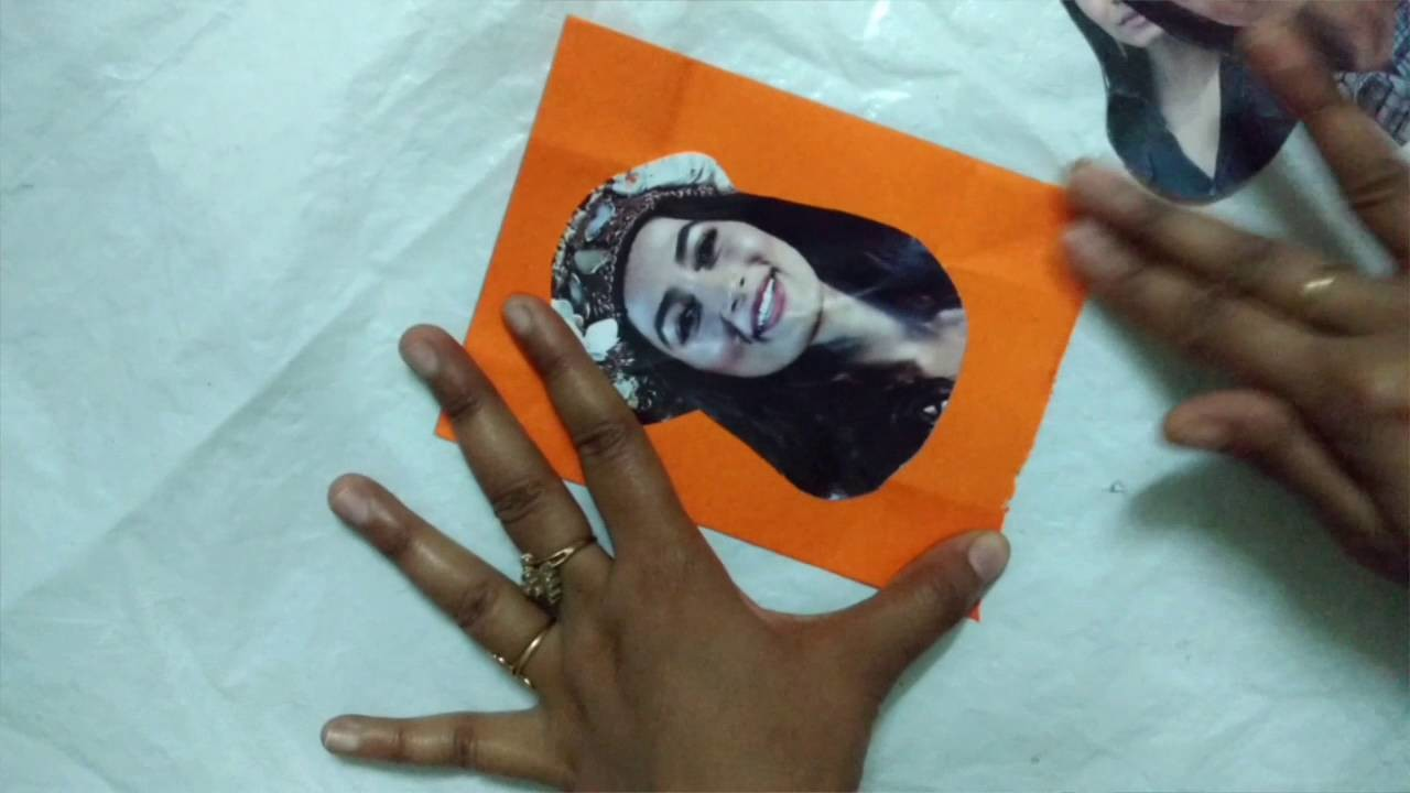 DIY Origami Never Ending Face Changer Card   How To   Craftlas