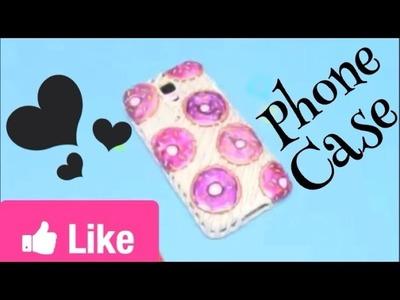 Diy phone cover using hot glue gun!