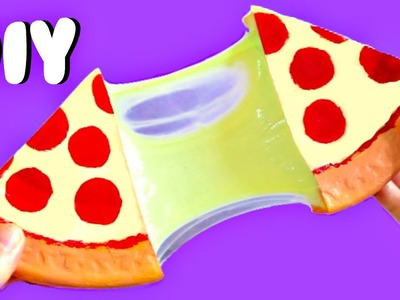 DIY PIZZA SLIME! | EASY DIY Toys for Kids