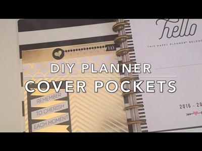 DIY Planner Cover Pockets