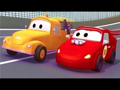 DIY Play Doh Car Cartoon 2016, Car Cartoon Movie, Mcqueen Cars, How to make Play Doh Tutorial 2016