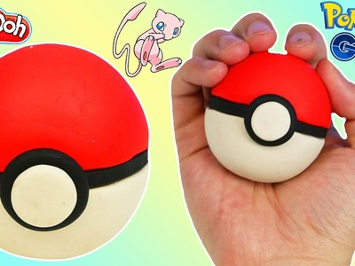 DIY Play-Doh Pokeball | How to Make Pokemon Go Items with Play Dough!
