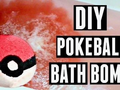 DIY POKEBALL BATH BOMB - HowToByJordan