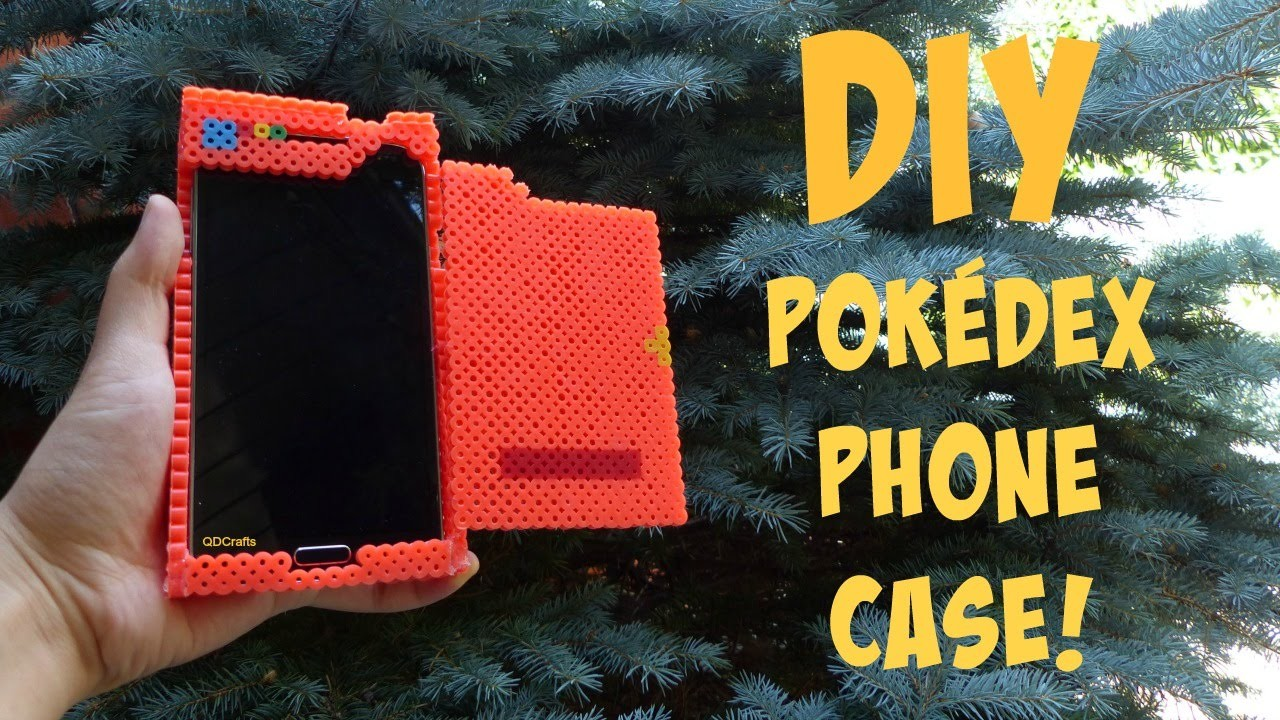 DIY Pokédex Phone Case (Made Entirely Out of Perler Beads!)
