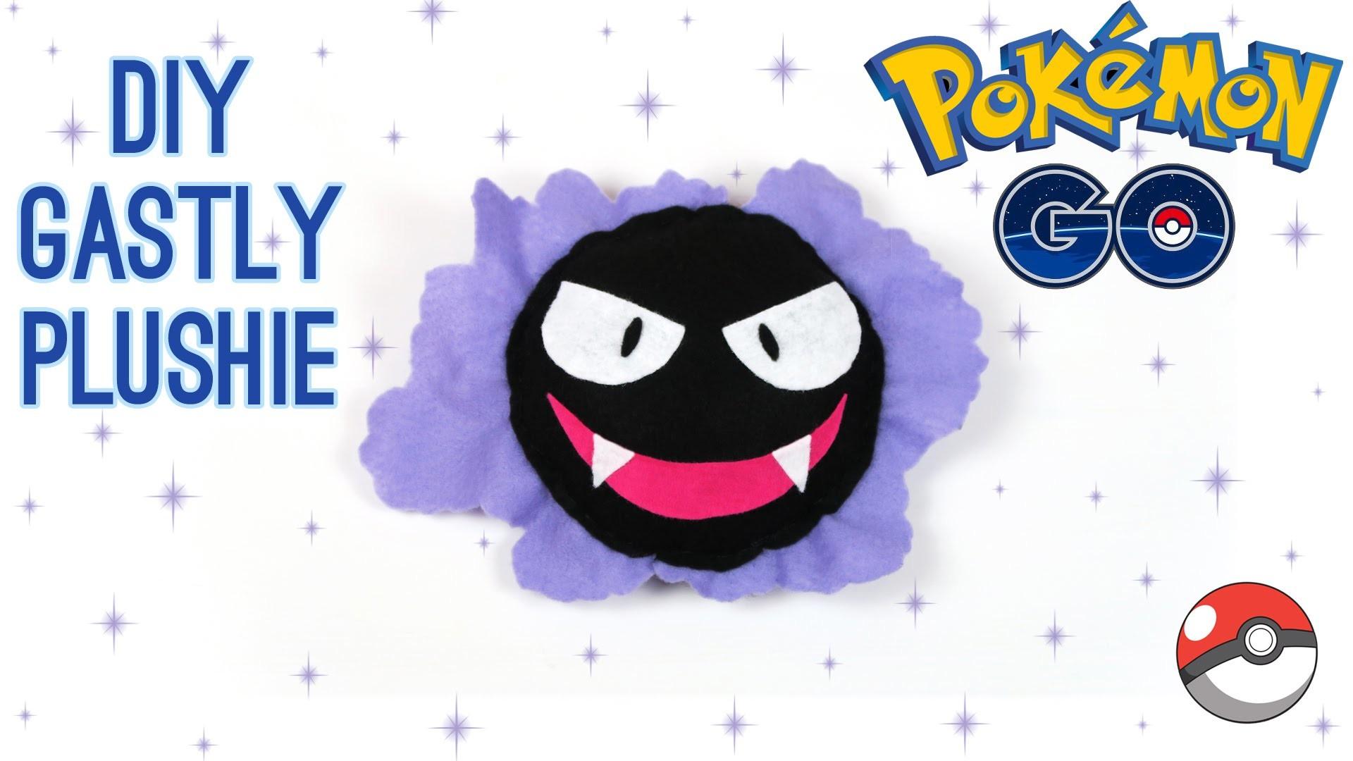 DIY Pokemon Gastly Plush: How to make your own cute Pokemon Go inspired plush toy