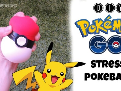 DIY POKEMON GO - STRESS BALL POKE BALL ENGLISH TUTORIAL