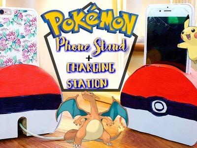 DIY Pokemon Phone Stand. Charging Station | Think Meg