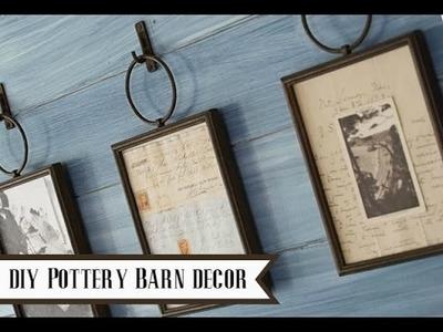 DIY Pottery Barn Home Decor {Pottery Barn Dupe}
