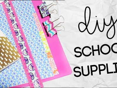 DIY School Supplies and Stationary | Dollar Store DIY | Back to School 2016