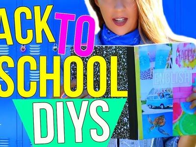 DIY School Supplies For Back To School 2016-2017! DIY Life Hacks + Organization For School!