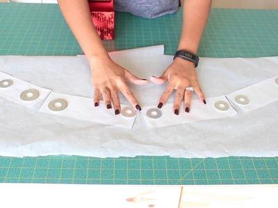 DIY Tutorial: Gaps at your waist? Create A Curved Waistband.