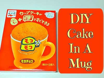 Easy DIY Cake In A Mug From Daiso