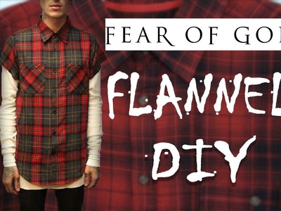 EASY FEAR OF GOD DIY | FLANNEL  | JSPIRITU