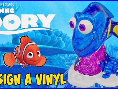 FINDING DORY DESIGN A VINYL FIGURE Coloring With Markers DIY Crafts