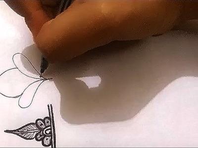 Heena basics | #7 DIY Henna Design | Learn Henna.Mehndi Tutorial