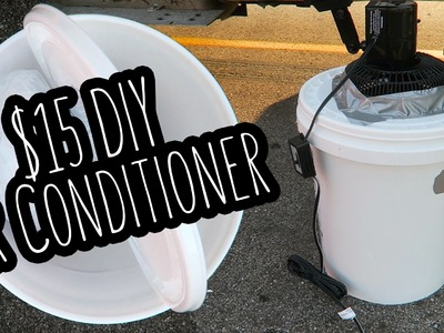 How to Build a Cheap Air Conditioner | DIY $15 AC