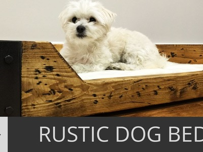 How to Build a Custom Dog Bed. DIY