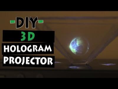 How To Make 3D Hologram Projector | Let's DIY