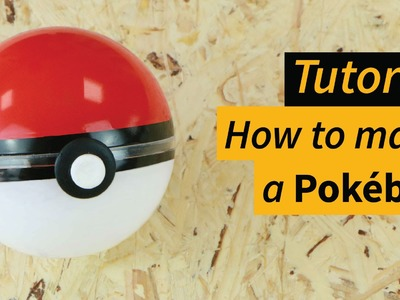 How to make a Pokeball - homemade - diy - tutorial [Manomano]