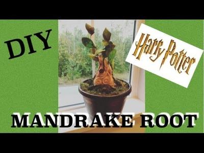 How to make  Harry Potter Mandrake Baby - DIY Harry Potter Tutorial. Super fun Harry Potter craft
