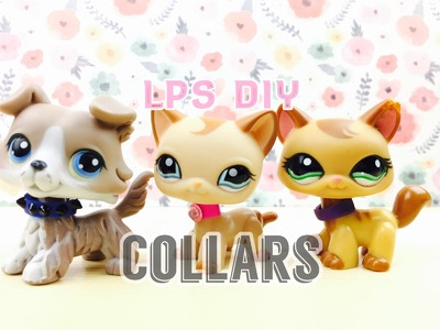 LPS DIY: 3 Different Kinds Of Collars (Choker, Spiked, Classic)