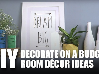 Mad Stuff With Rob - DIY Decorate On A Budget | Room Decor Ideas