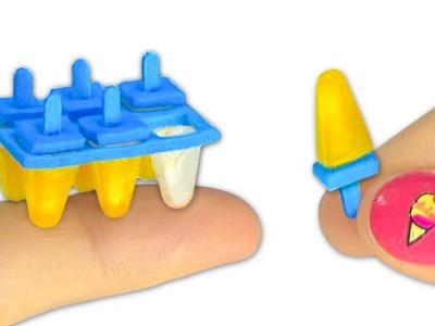 Miniature edible Ice Cream or Popsicle DIY (actually works!) - YolandaMeow♡