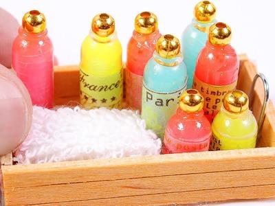 Miniature Soap Bottle DIY ~ Dollhouse DIY