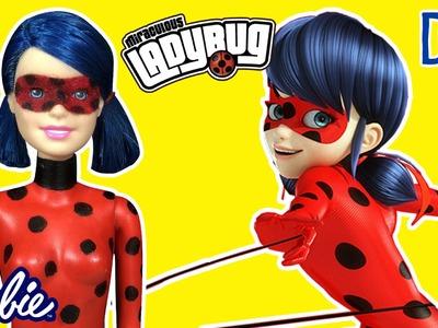 Miraculous Ladybug Marinette - Custom Doll Barbie Tutorial - DIY - Making Kids Toys