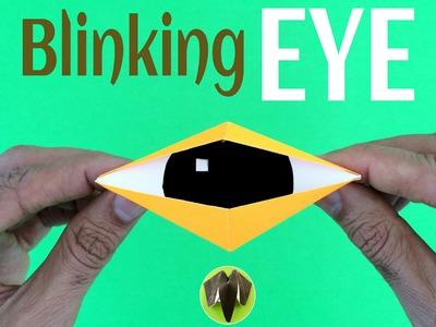 "Origami tutorial to make Paper ""Blinking Eye"