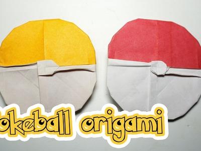 POKEMON - Easy origami Pokeball tutorial - DIY (Henry Phạm)