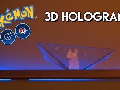 Pokémon Go 3D Hologram [How-To.DIY Hologram for Smartphone]