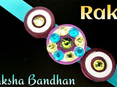 "Quilling Tutorial to make ""Rakhi Bracelet for Raksha Bandhan"" | Handmade |DIY | Design - 9"