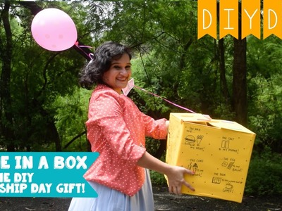 Selfie In a Box | Cool DIY Friendship Day Gift for your Bestie | DIY DAY SPECIAL