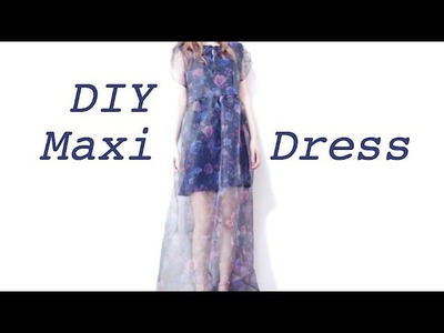 Sewing + DIY Maxi Dress