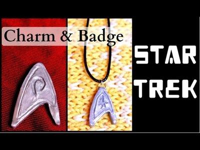 Star Trek Badge & Charm - Easy DIY