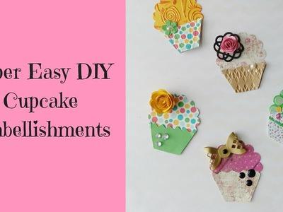 Super Easy DIY  Cupcake Embellishments