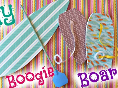 Surfboard & Boogie Board | DIY American Girl Doll Craft
