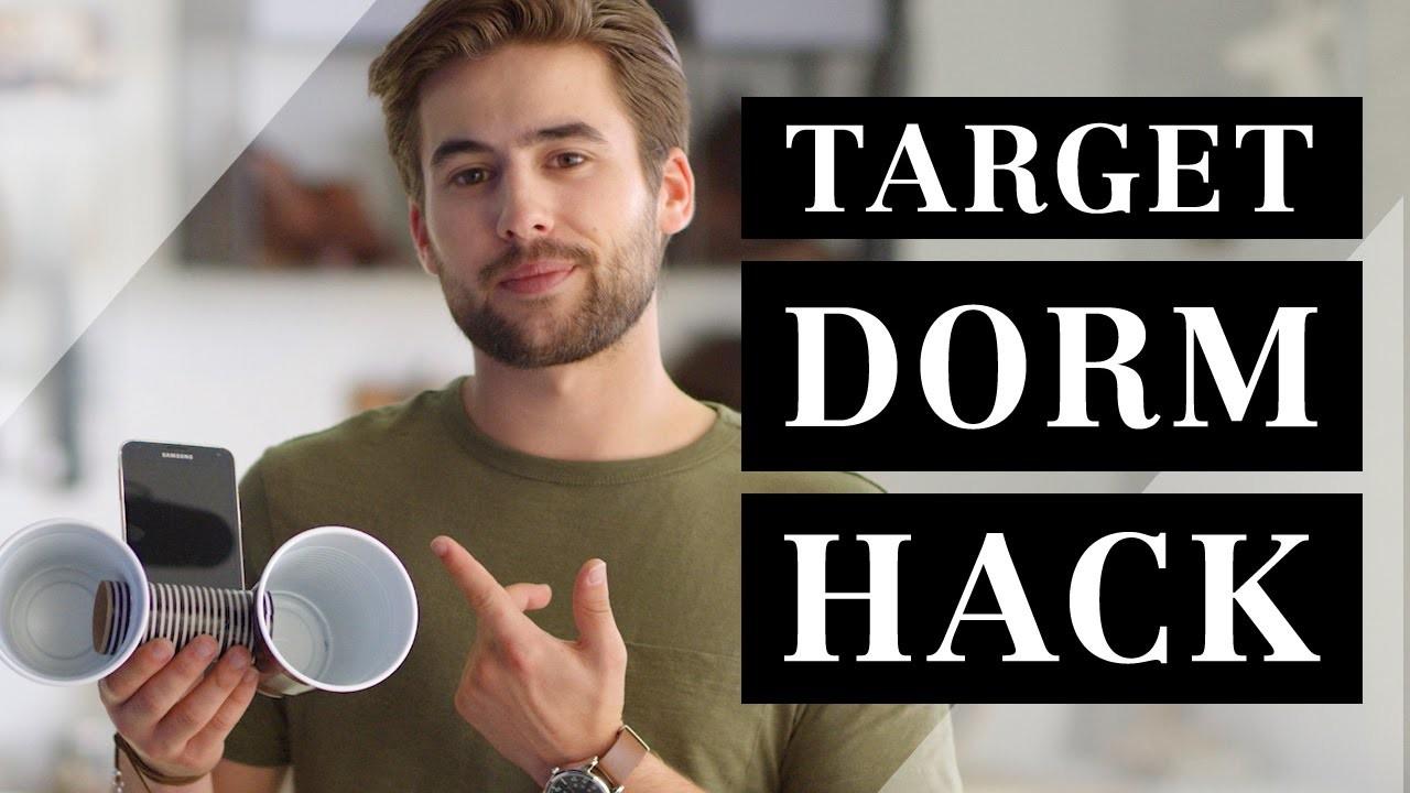 Target Dorm Hack 2016   How to Make a DIY Speaker