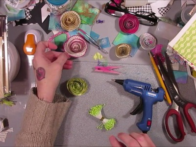 Tutorial: DIY Spiral Flower & Live Stream Tomorrow (Sunday) 8pm Central
