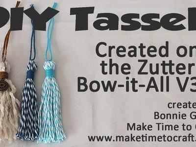 Zutter Bow-it-All V3.0 Tutorial * DIY Tassel Tutorial with Really Reasonable Ribbon