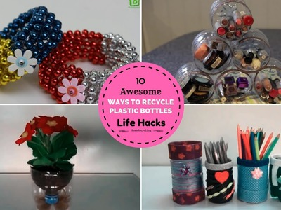 10 DIY Awesome Ways to Recycle or Reuse Plastic Bottles #3 | Life Hacks
