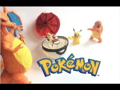 3D Pen | DIY Working Pokeball | Playing real life Pokemon | 3D Pen creations