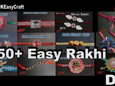 50+ Easy Rakhi Making Videos Compilation | DIY How to make Rakhi | JK Easy Craft 180